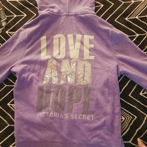 ViCTORIA'S SECRET ZIP UP HOODIE🧥💁👼